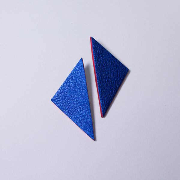 Betty Earrings | Electric Blue