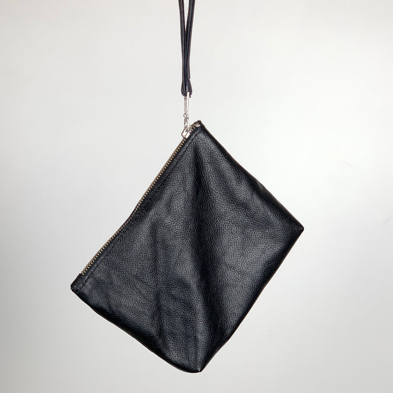 STALNO Square Clutch | Black