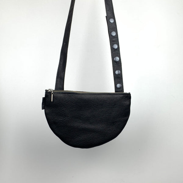 STALNO Mini Side Bag Half Moon | Black