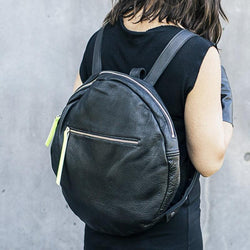 Full Moon Backpack | Black-SMENA
