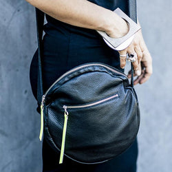 Full Moon Bag Small | Black-SMENA
