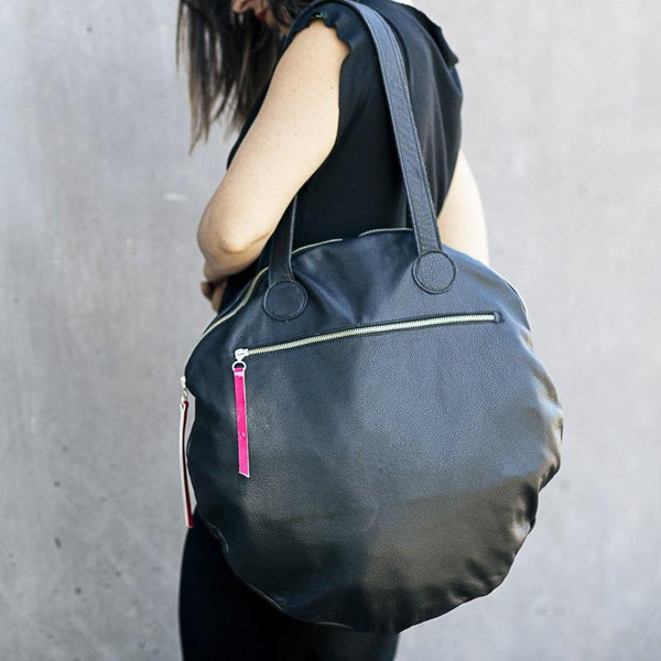 Full Moon Bag Large | Black-SMENA