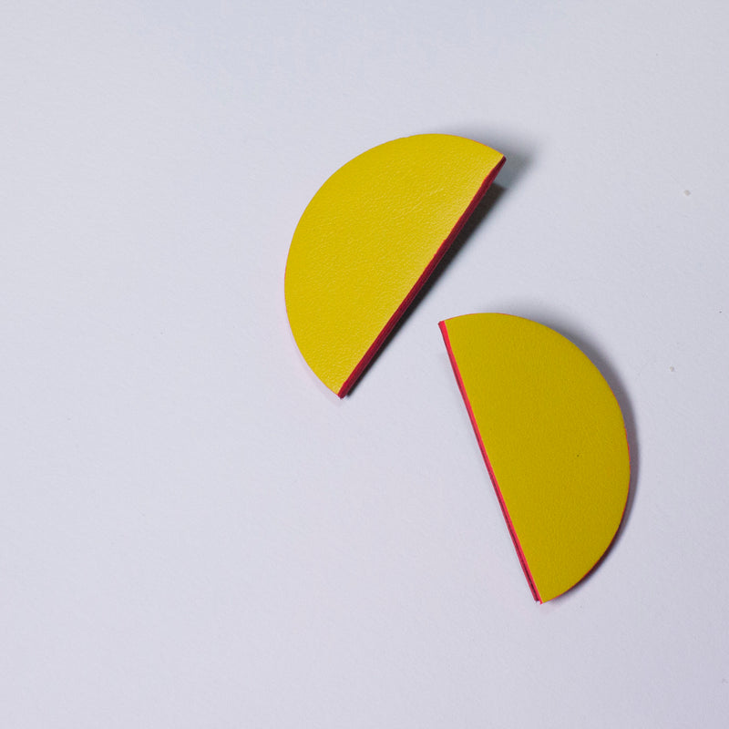 Bonita Earrings Small | Yellow-SMENA