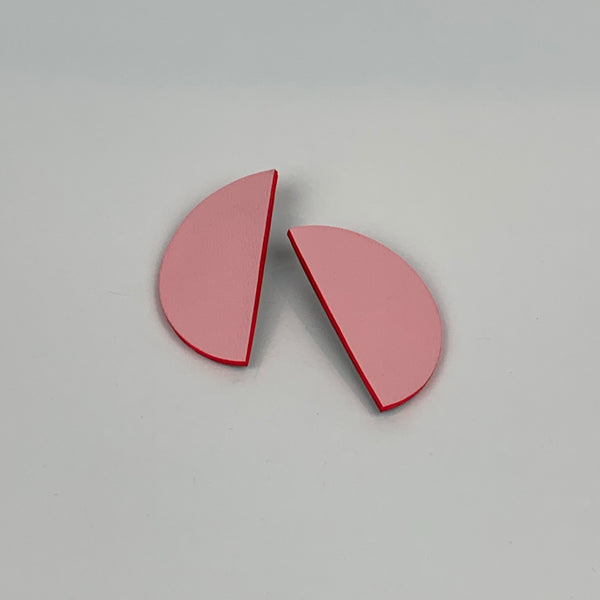 Bonita Earrings Large | Baby Pink