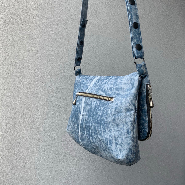 Silna | Motorbike Bag | Light Blue Stone