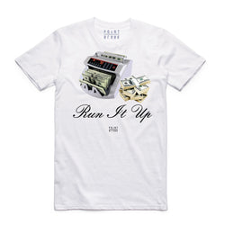 Point Blank Run It Up White Men T-Shirt 100987-1009