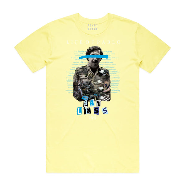 Point Blank Life of Pablo (Jordan Blue) Lemon Men T-Shirt 100987-1037