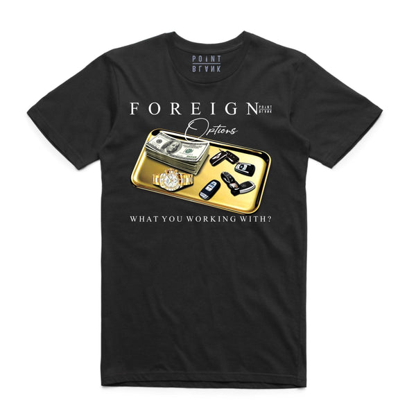 Point Blank Foreign Options Black Men T-Shirt 100987-706
