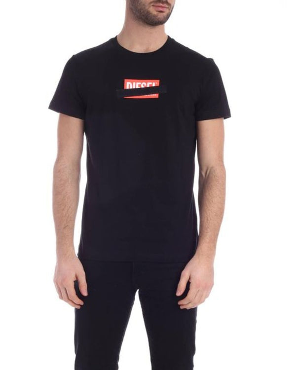 DIESEL T-DIEGO-S7 BLACK MEN  T-Shirt