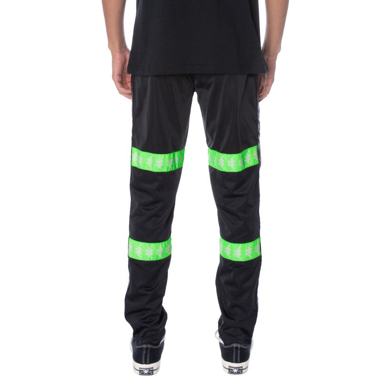 Kappa Banda Canger Black/Green Men Track Pants 304U860