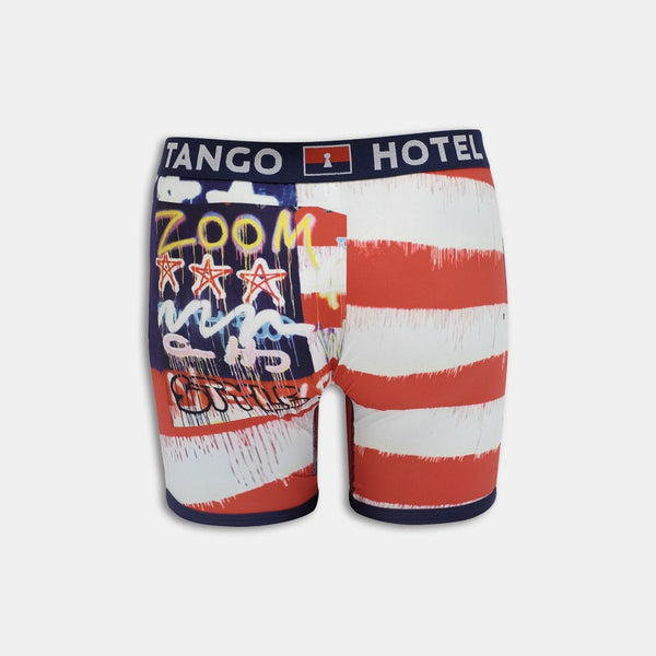 TANGO HOTEL GOD BLESS A Miracle MULTI MEN BOXER BRIEF THB4028BB