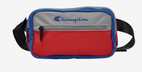 Champion COLOR BLOCK GREY/MULTI WAIST/ FANNY PACK CH1057