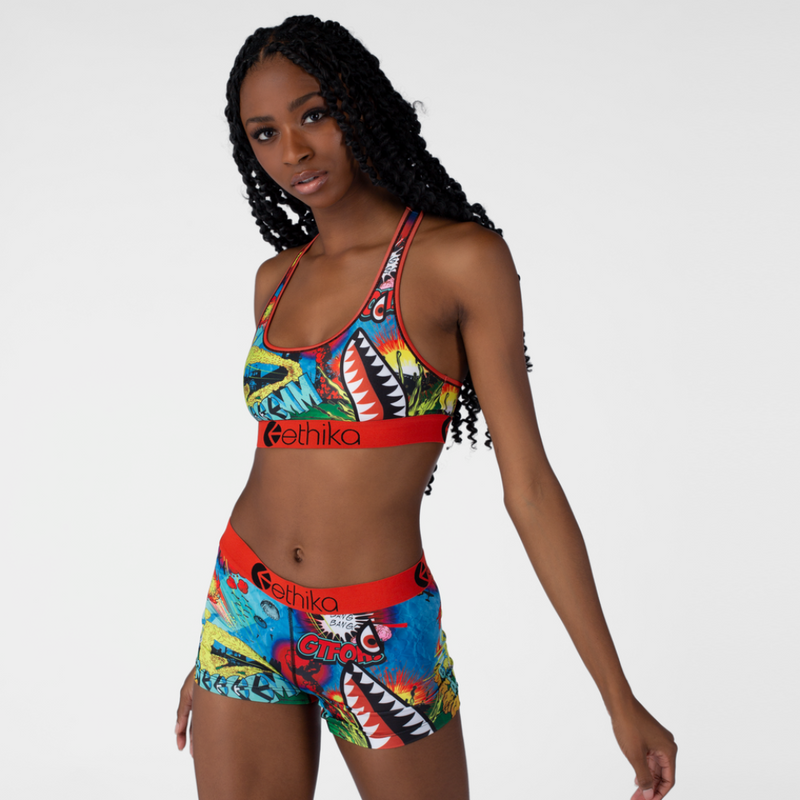 Ethika Wild World Assorted Women Bra WLSB1208