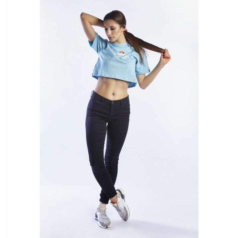 ELLESSEWomen FIREBALL LIGHT BLUE Women CROPPED T SHIRT SGB06838
