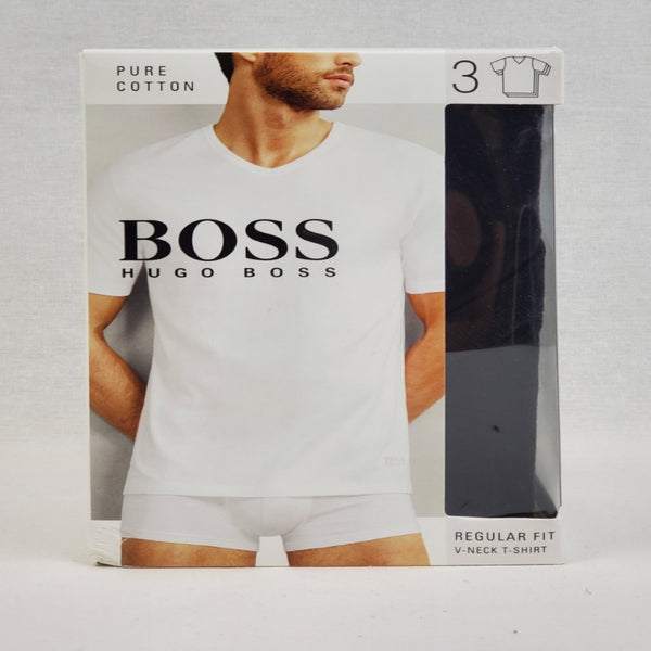 Hugo Boss Black 3PACK MEN V NECK T-SHIRT 50325386