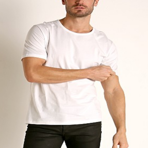 Hugo Boss White 3PACK MEN CREW NECK T-SHIRTS 50325385