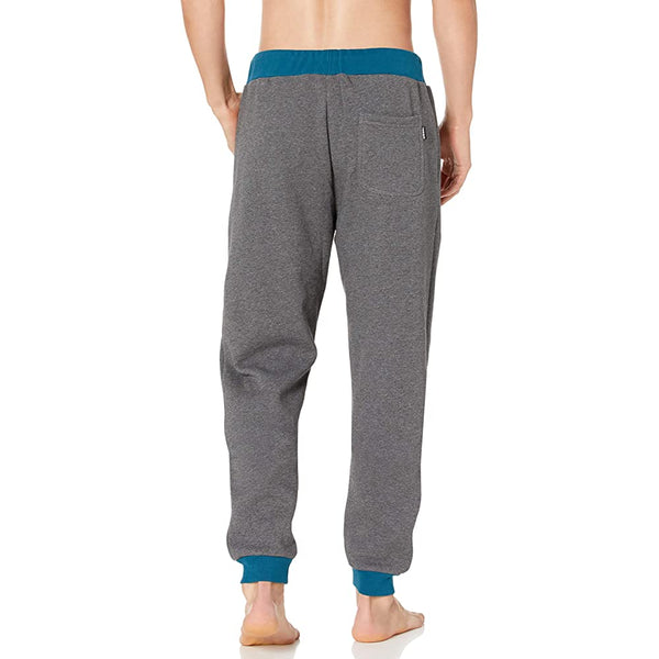 DIESEL UMLB-PETER-BG MELANGE Grey MEN SWEATPANTS 00SYXI0TAWD
