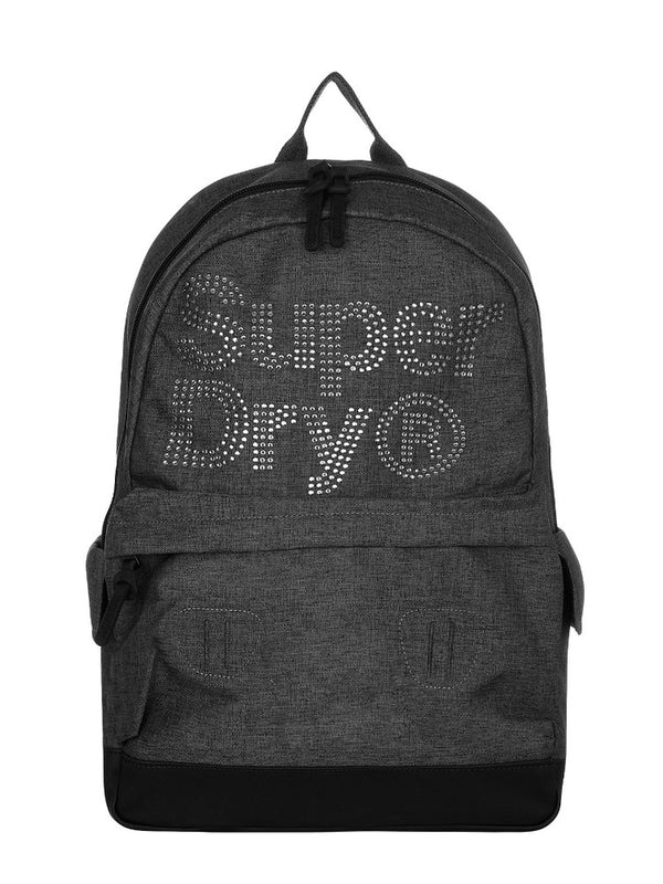 SUPERDRY D2 LINEMAN RHINESTONE Montana GREY BACKPACK G91007MR