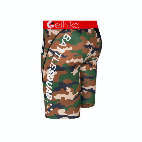 Ethika Bomber Battle Squad Red Black Boys Boxer BLST1532