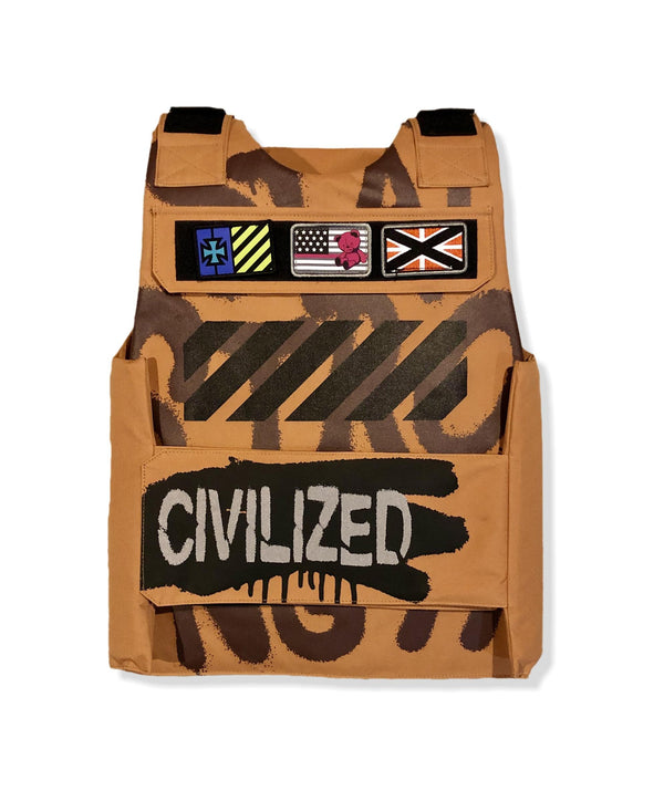 Civilized Bear Utility Timber Men Vest CV9791