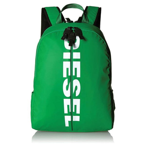 "DIESEL ""BOLDMESSAGE"" BOLD BACK II GREEN BACKPACK X06330P1705"