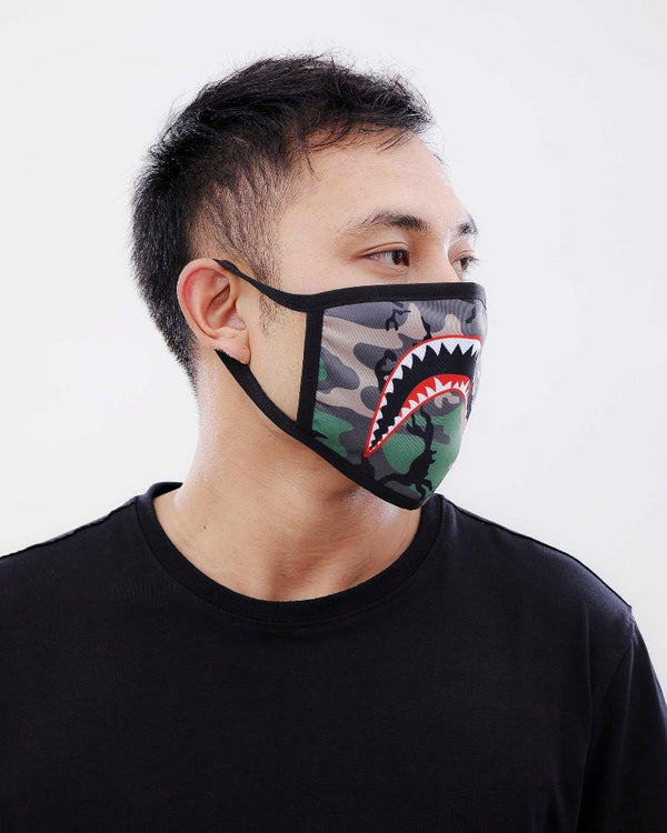 Hudson Eternity Sharkmouth Camo Corona Face Masks E7133263