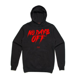 Point Blank No Day Off Black Red Hoodie 100987-20
