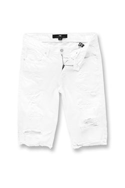 Jordan Craig Shredded Twill White Men Short J3135SA