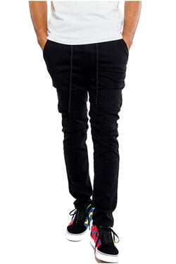 Jordan Craig Stacked Chino Twill Black Men Pants 5627M