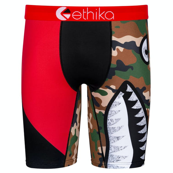 Ethika Bomber Battle Squad Red Black Men Boxer MLUS1532