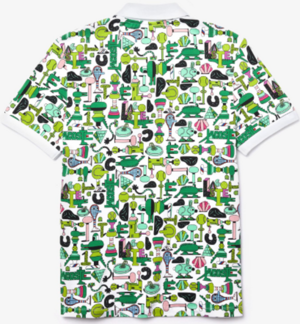 LACOSTE GRAPHIC PRINTED POLO Shirt MEN PH0402