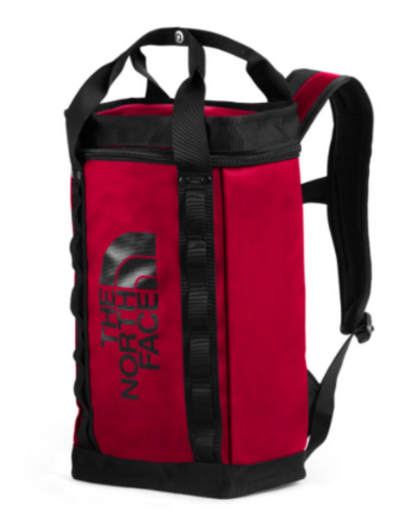 The North Face Explore Fusebox S red/black backpack NF0A3KYVKZ3