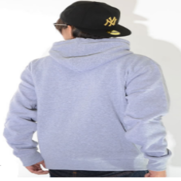 Southpole GREY MEN PULLOVER HOODIE 19321-1503