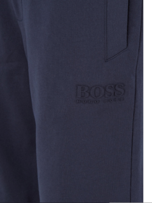 HUGO BOSS Drawstring Heritage Dark Blue Men Shorts 50409367