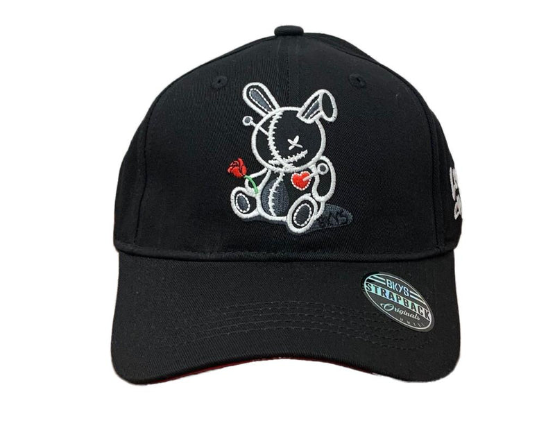 Bkys Lucky Charm Black White Men Dad Hat BKD934