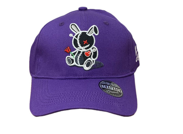 Bkys Lucky Charm Purple/Black Men Dad Hat BKD934