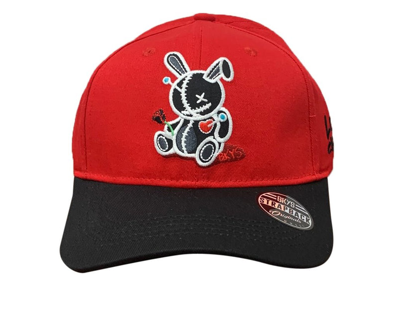 Bkys Lucky Charm Red/Black Men Dad Hat BKD934