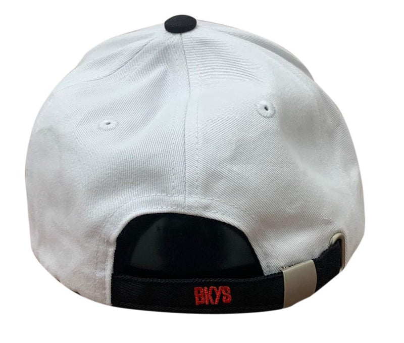 Bkys Lucky Charm White/Black Men Dad Hat BKD934