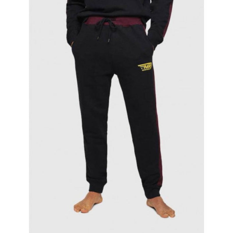 Diesel UMLB-PETER-BG TROUSERS Black Men Sweatpants 00SYXI0SAWA
