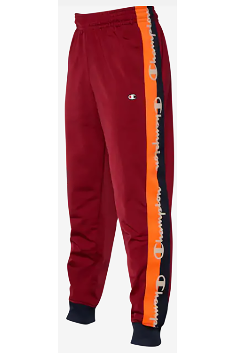Champion Tricot Taping cherry/navy men Track Pant p3378