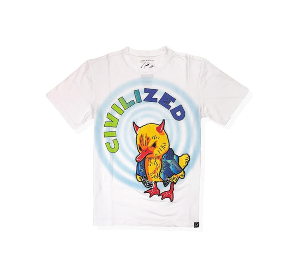 Civilized spiraledout white men t-shirt CV2106