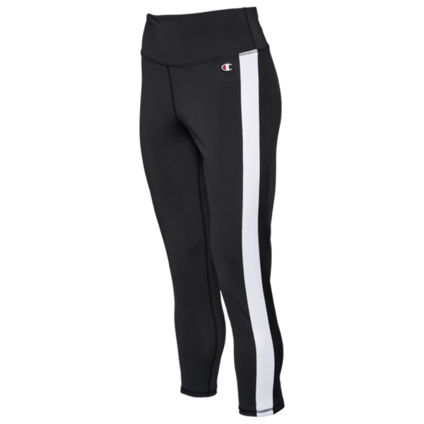 Champion HIGH RISE TIGHTS BLACK Women Pants ML142