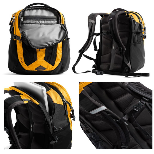 The North Face RECON YELLOW/BLACK BACKPACK NF0A3KV16VC