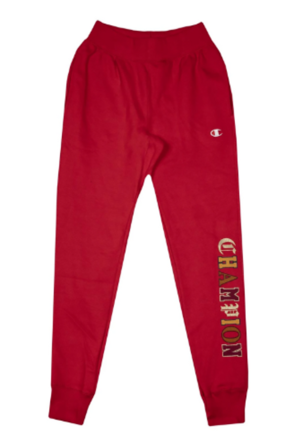 Champion REVERSE WEAVE RED MEN JOGGER SWEATPANTS GF01