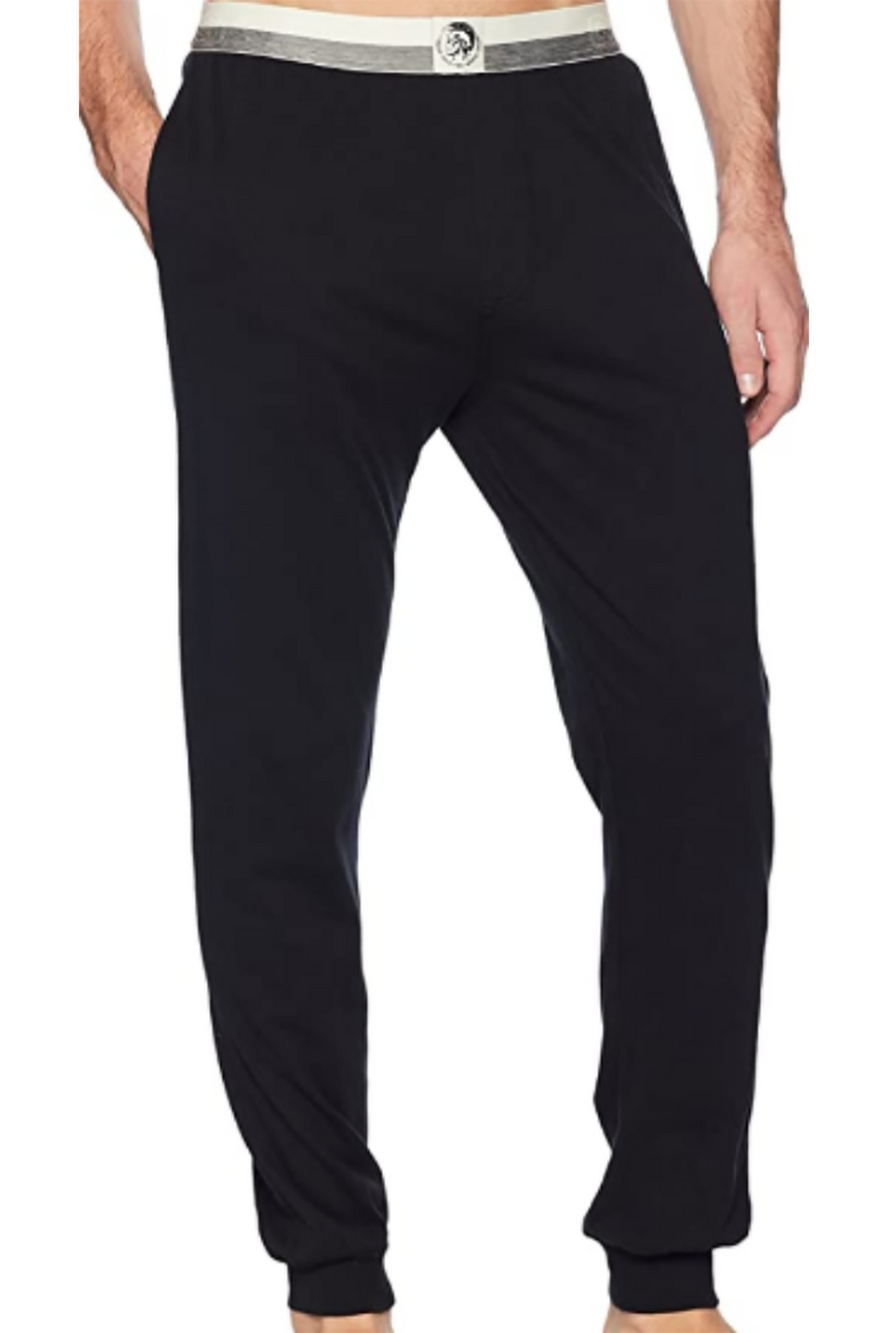 DIESEL UMLB-JULIO BLACK MEN PAJAMA Pants  00SJ3J0DARX