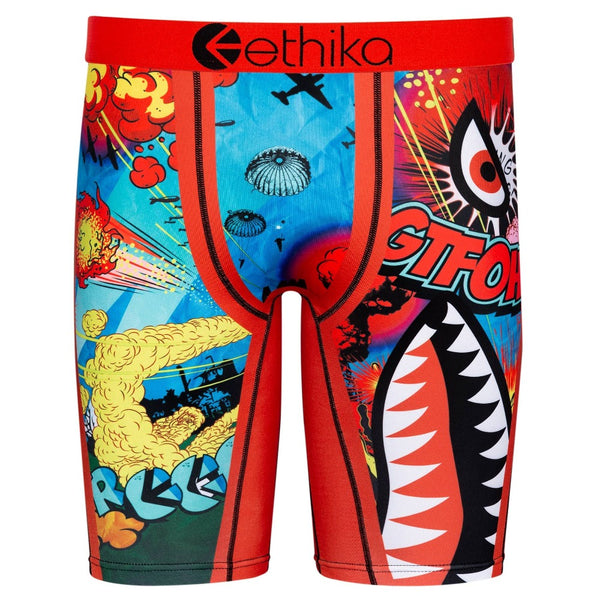 Ethika Bomber Wild World Assorted Men Boxer Sport Underwear MLUS1393