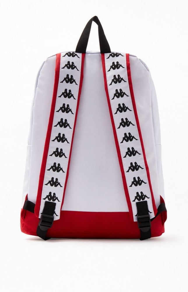 Kappa Banda Bastil white/purple unisex Backpack 3041BQ0