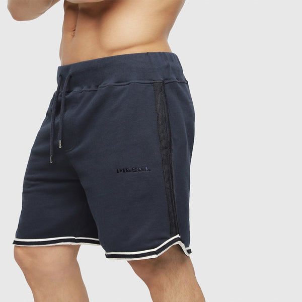 Diesel UMLB-PAN DARK/BLUE MEN SWEAT SHORTS 00ST2A0HASE