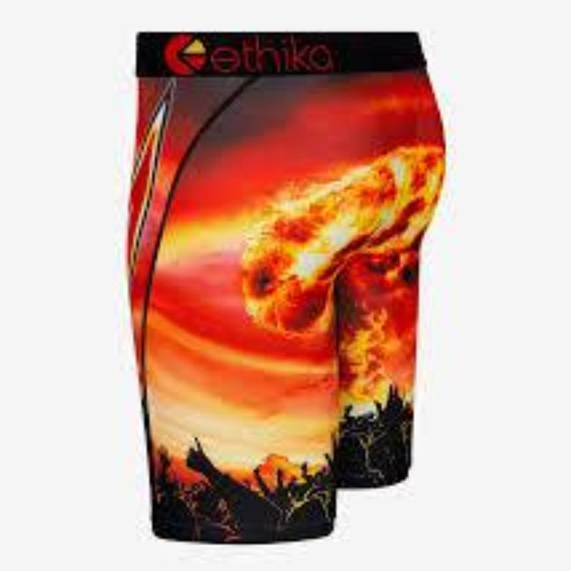 ethika Head Banger Red/Yellow men Underwear MLUS1023