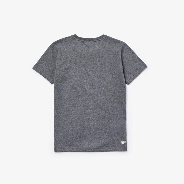Lacoste Sport Crocodile Breathable Grey kids T-Shirt TJ3297